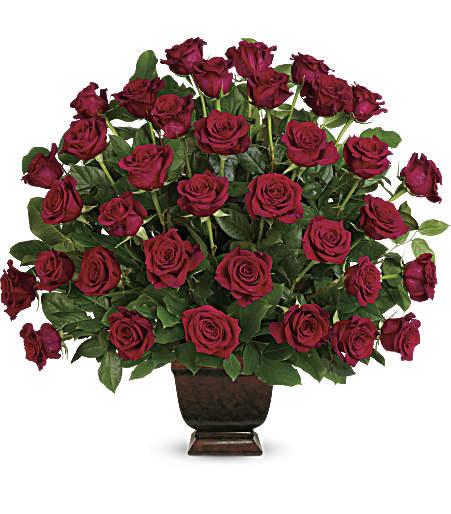Teleflora's Rose Tribute Bouquet