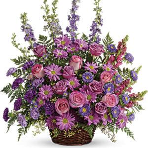 T235 1B 300x300 - Gracious Lavender Basket