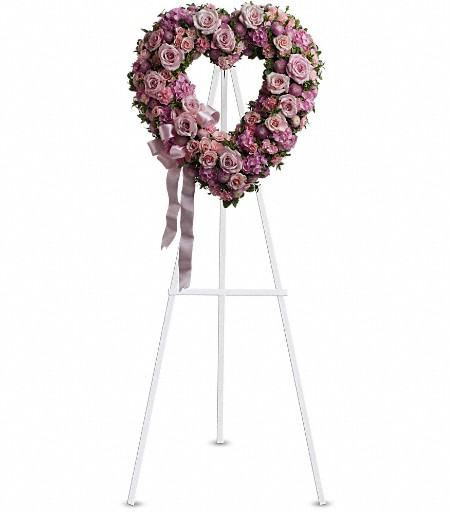 T238 2A - Rose Garden Heart