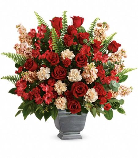 Teleflora's Bold Tribute Bouquet