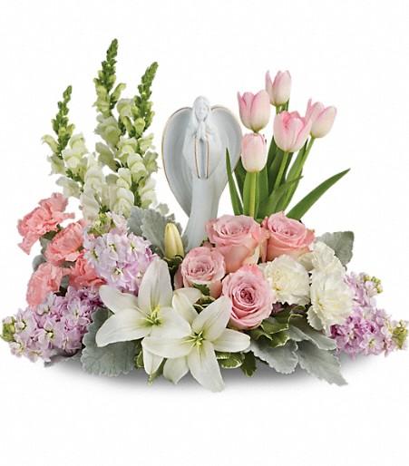 T601 6B - Teleflora's Garden Of Hope Bouquet